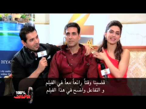 Zee Aflam meet the star-cast of Desi Boyz