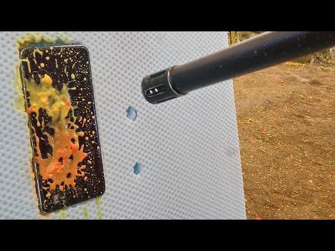 General Mobile GM5 Plus Sağlamlık Testi (Paintball Silahı Ile Ateş Ettik)