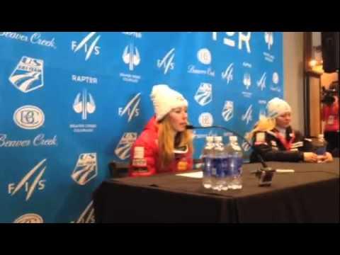 Mikaela Shiffrin press conference