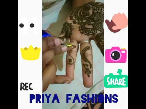 mehandhi design by priya fashion