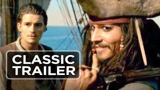 Pirates of the Caribbean: The Curse of the Black Pearl Official Trailer 1 (2003) HD