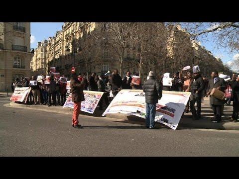 Des opposants à Paul Kagame devant l'Unesco