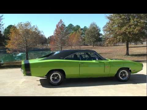 Sold 1970 Dodge Charger Rt Se Sublime Green Fully