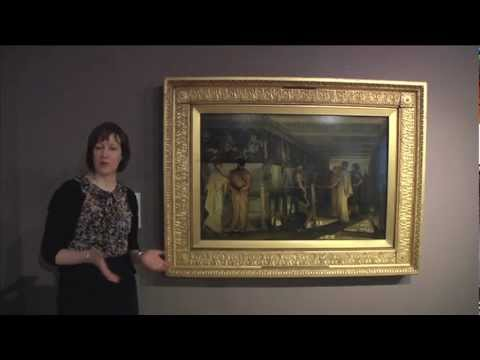 Curator Victoria Osborne talks about 'Pheidias and the Frieze of the Parthenon' by Alma Tadema