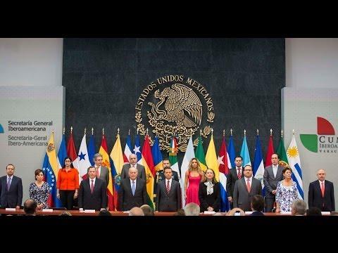 Ceremonia De Traspaso De La Secretar�a General Iberoamericana