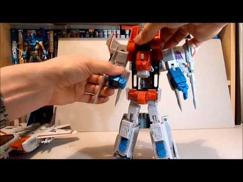 Transformers Masterpiece MP11 New Leader STARSCREAM Review