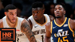 Utah Jazz vs New Orleans Pelicans - Full Game Highlights | October 11, 2019 NBA Preseason