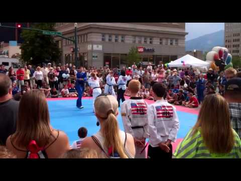 Olympics Celebration in Colorado Springs   July 27, 2012