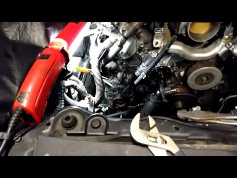 LS 460 part 1 water pump replacement