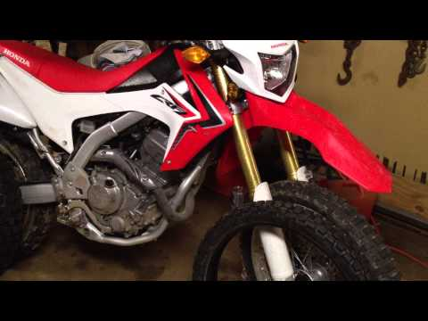 2013 CRF250L Private Review #5