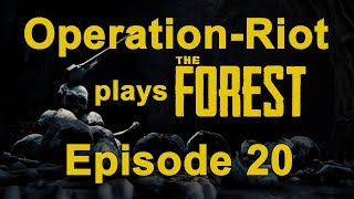The Forest PS4 (0020) Single Player Survival Gameplay
