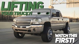 5 Things you NEED to think about BEFORE you lift your truck