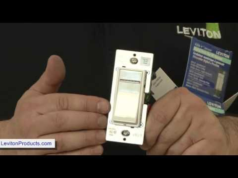 how to install leviton dimmer switch youtube. Black Bedroom Furniture Sets. Home Design Ideas