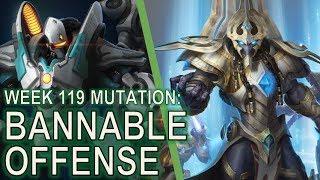 Starcraft II Co-Op Mutation #119: Bannable Offense [Conservative Strategy]