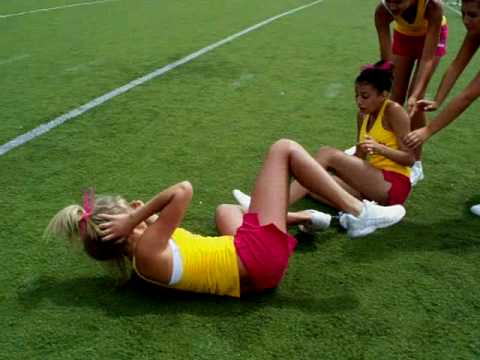 A Kick To The Head is listed (or ranked) 10 on the list The 12 Most Brutal Cheerleading FAILs