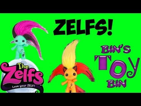 The Zelfs Review! CUTE, COOL or CREEPY? Spellinda, Lil' D & Mystery Blind Boxes! by Bin's Toy Bin