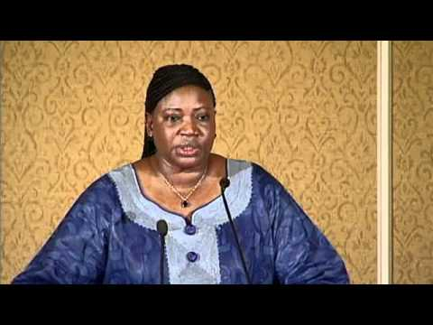 International Criminal Court Lecture With Chief Prosecutor, the Honorable Fatou Bensouda