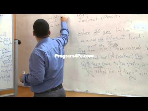 دروس تقوية. اللغة الانكليزية.السادس الاعدادي(Reported speech) أ.محمد ناصر الشمري