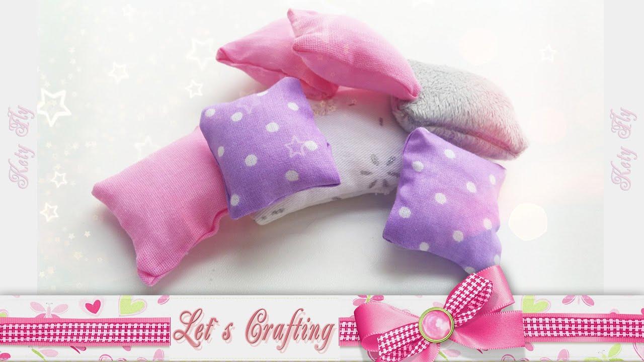 Как сделать подушку для куклы своими руками