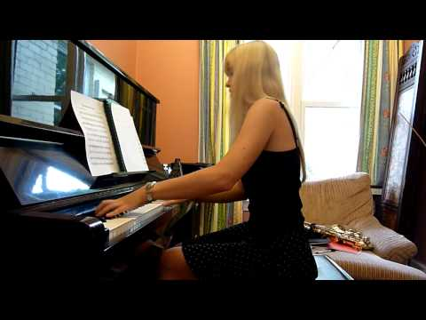 Lara plays The Neverending Story Medley on piano