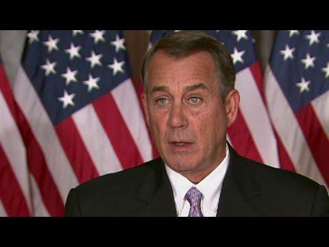 John Boehner. Obama actúa como un emperador