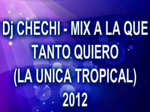 Dj CHECHI MIX A LA QUE TANTO QUIERO LA UNICA TROPICAL 2012
