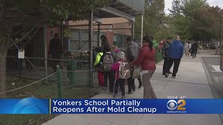 Yonkers School Partially Reopens After Mold