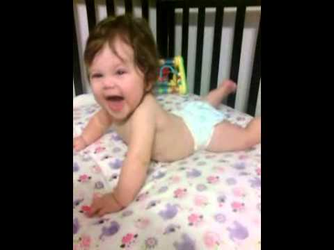 Julia So Happy She Bends Over To Laugh video