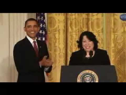 Justice Sotomayor-A Puerto Rican Girl From The Bronx
