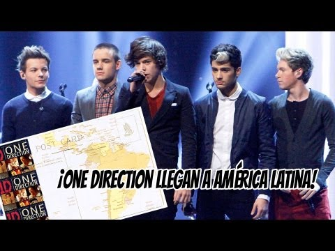 ¡One Direction Llegan a América Latina!
