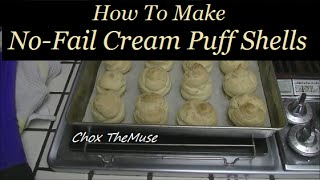 Cream Puff Shells! Easy No-Fail Choux Pastry
