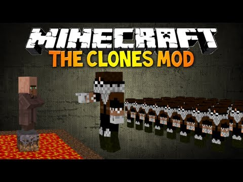 Minecraft: CLONES MOD! - Make your own clone army! (My People mod spotlight)
