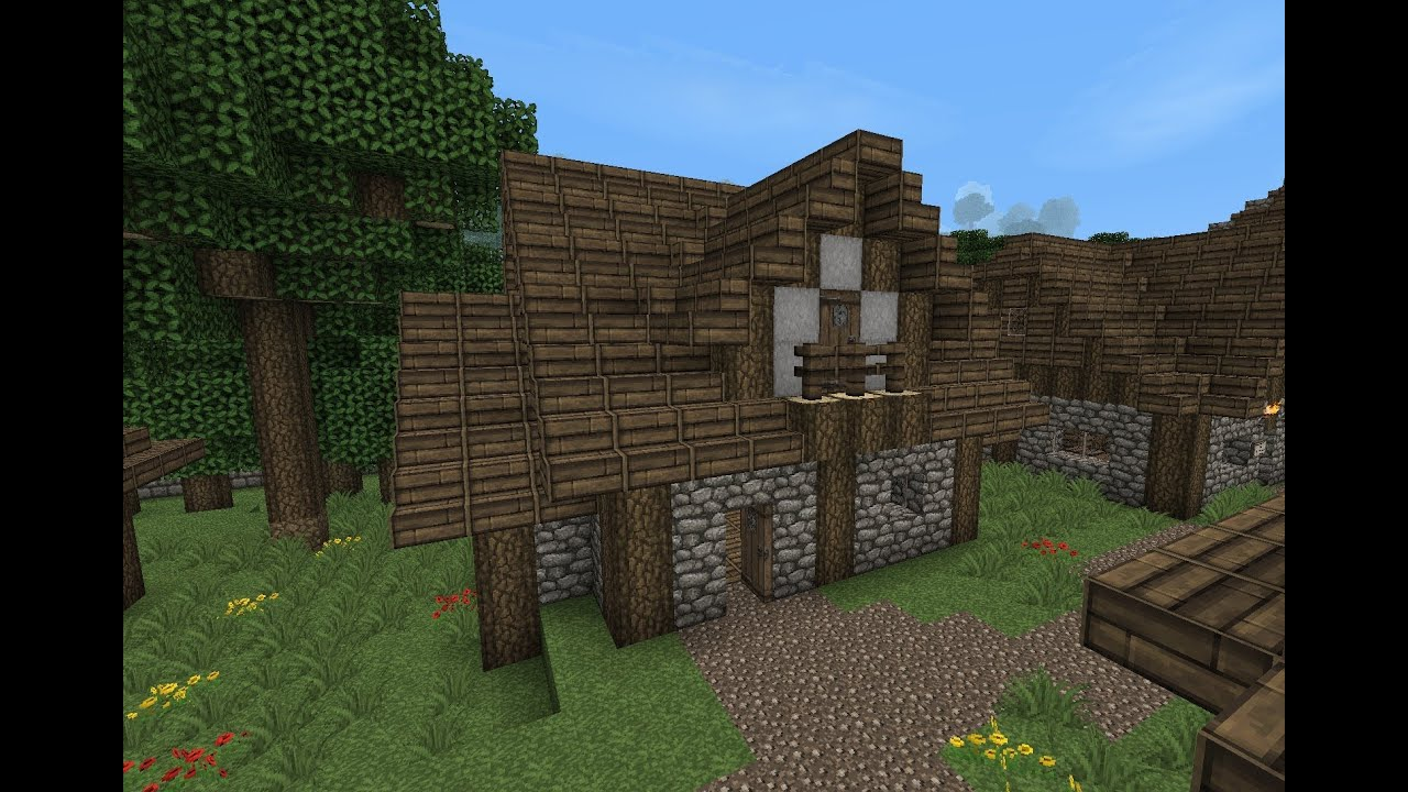 Minecraft - Gundahar Tutorials - Medieval House 5