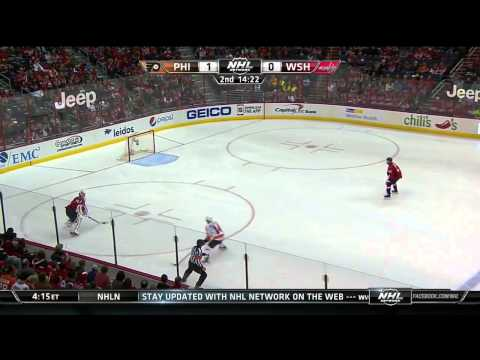 Philadelphia Flyers vs Washington Capitals 08.02.2015
