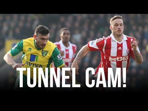 TUNNEL CAM: Norwich City 1-1 Stoke