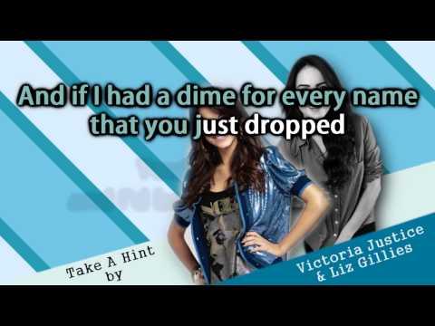Victoria Justice & Elizabeth Gillies - Take A Hint Instrumental + Free mp3 download!
