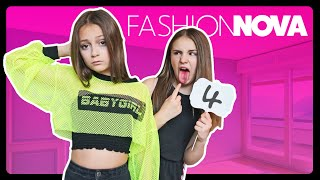BEST FRIEND REACTS TO MY FASHION NOVA OUTFITS  *CLOTHING HAUL* | Sophie Fergi