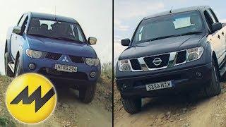 Vergleich Mitsubishi L200 vs. Nissan Navara: Das Pickup-Duell