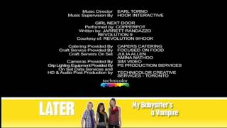 Disney Channel UK - MY BABYSITTER'S A VAMPIRE - End Credits