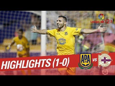 Resumen de AD Alcorcón vs RC Deportivo (1-0)