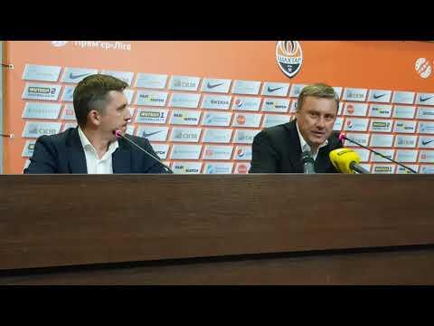 Александр Хацкевич: Буяльского пришлось заменить после отмашки игрока Шахтера