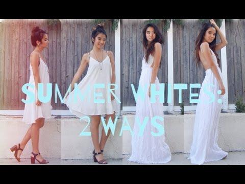 Summer Whites: 2 Ways!