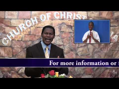 Biblical Exception vrs General Rules,Minister Abraham Monney, Church of Christ,Ghana  14 06 2015