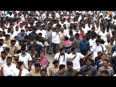 YS Jagan Padayatra | 322వ రోజు ప్రారంభమైన ప్రజాసంకల్పయాత్ర
