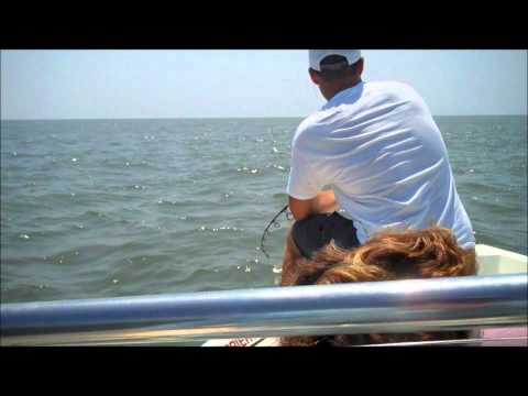 Alex-Tarpon fishing Litchfield Beach SC, Barrier Island Guide Service