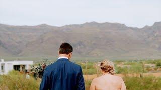 Melissa & John | Wedding Film at Superstition Mountains | GH5s