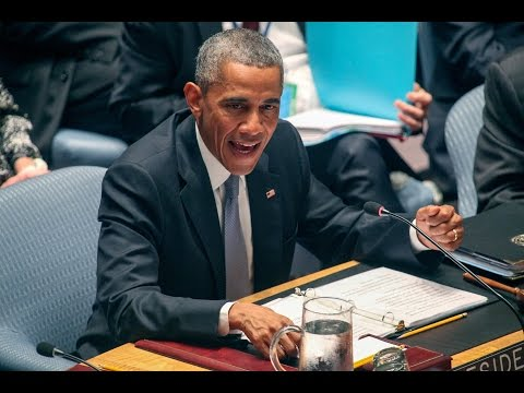 The Beast : The Lawless One Chairs as Head of the U.N. Security Council (Sept 24, 2014)