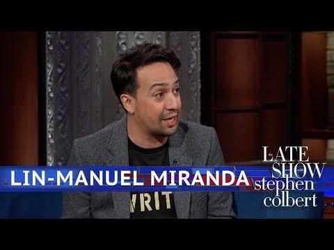 Lin-Manuel Miranda On 'Hamilton' In The US Vs. UK