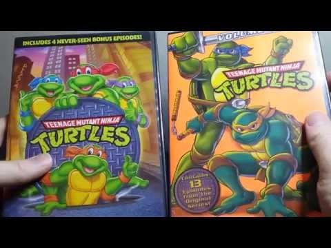Teenage mutant ninja turtles 1987 seasons 1 2 dvd unboxing