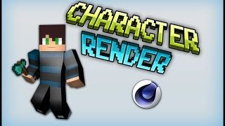 [TUTORIAL] How To Make a C4D Render of your Minecraft skin